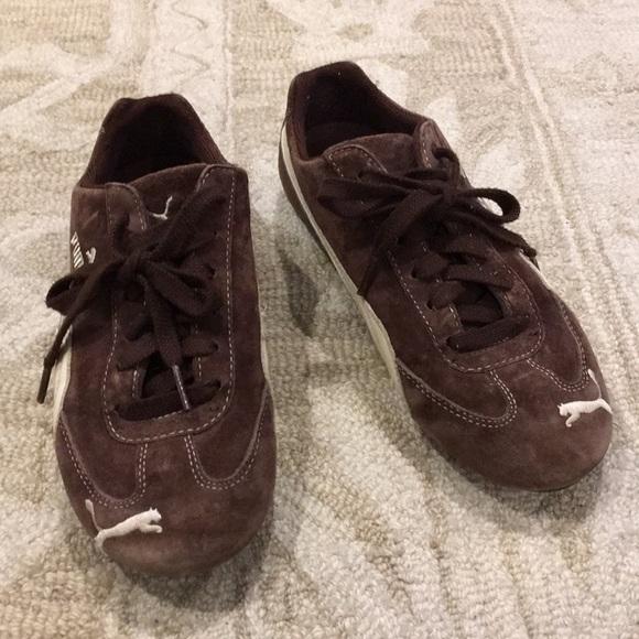 info pour abbbb 2311e Puma Retro Speed Cat suede jogger casual sneakers